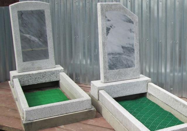 Заготовки для памятников из мраморной крошки