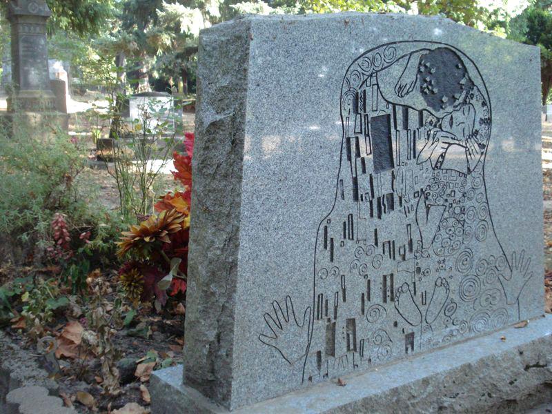 Картина Климта на памятнике