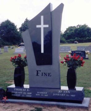 Памятник со вставкой