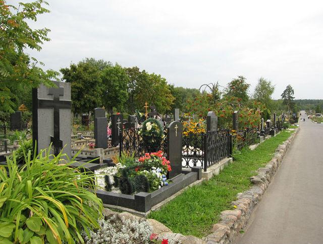 Щербинское кладбище Южное