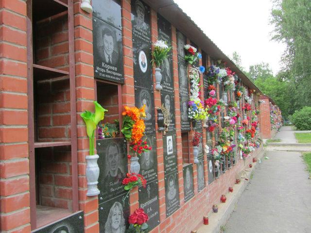 Колумбарий на Заельцовском кладбище