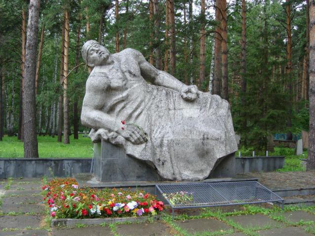 Мемориал на Заельцовском кладбище