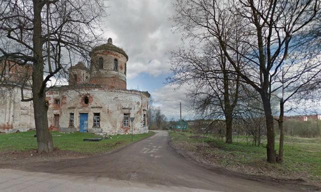 Дорога, ведущая на Ивановское кладбище