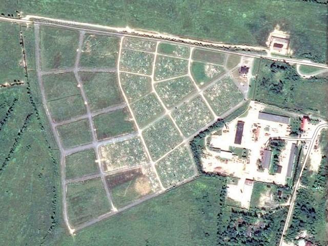 План кладбища Мерятино на карте