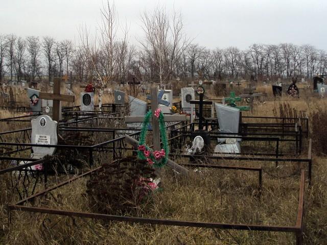 Старые памятники на Северном кладбище