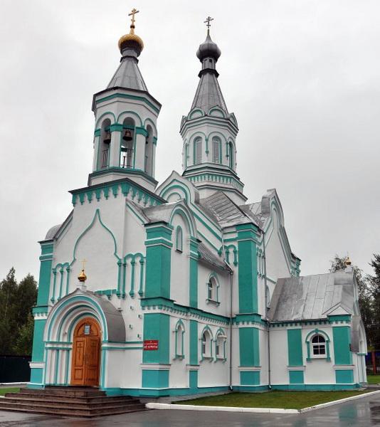 Церковь Всех святых, в земле Российской просиявших