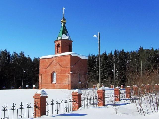 Успенская часовня на кладбище