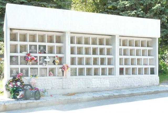 Нижне-Истеское кладбище, колумбарий