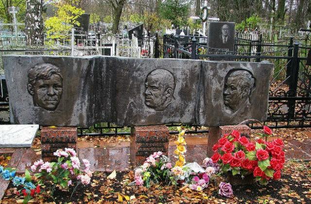 Могила семьи Юрия Гагарина