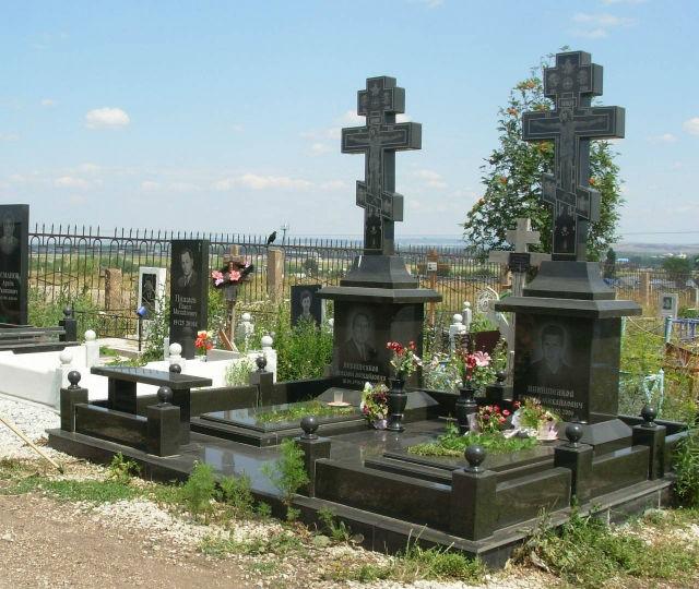 Почетное захоронение семьи Михаила Никишенкова