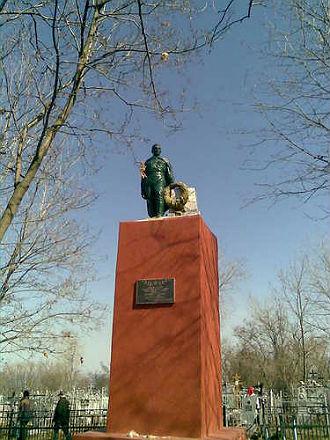 Мемориал. Увекское кладбище, Саратов
