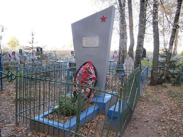 Могила Николая Ткаченко