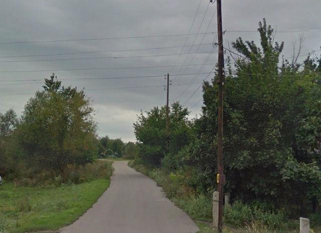Дорога, ведущая на кладбище (съезд с Липецкого шоссе)