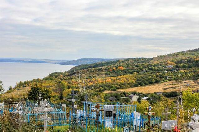 Захоронения на Карамзинском кладбище