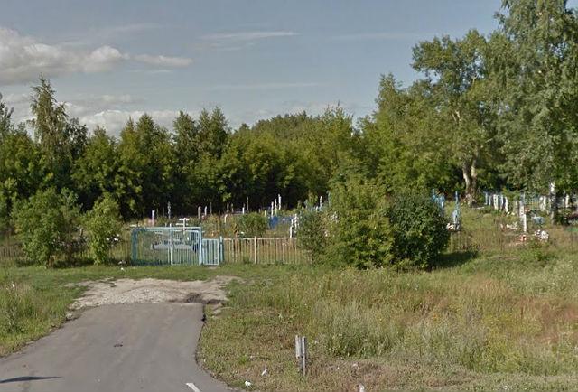 Вид на захоронения кладбища Протопоповка