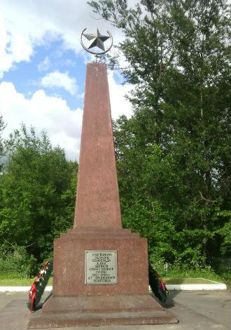 Мемориал–обелиск участникам обороны Ленинграда