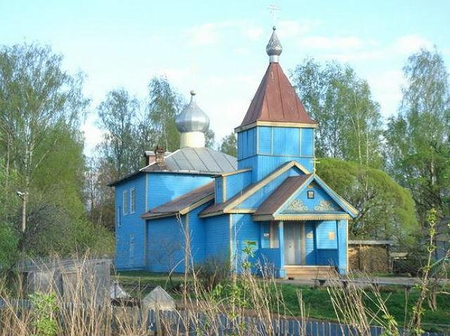 Церковь Святителя Николая Чудотворца на Городском кладбище