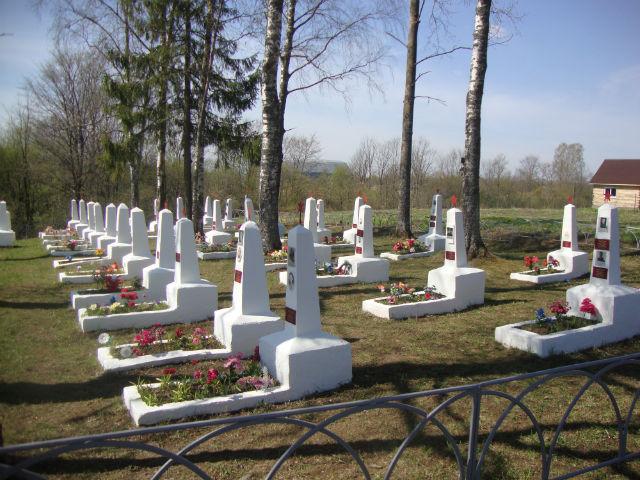 Захоронения советских летчиков