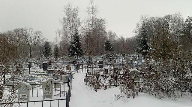 Захоронения на Лепешкинском кладбище