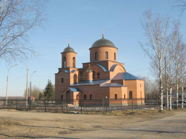 Храм Святого праведного Лазаря Четверодневного на  Западном кладбище
