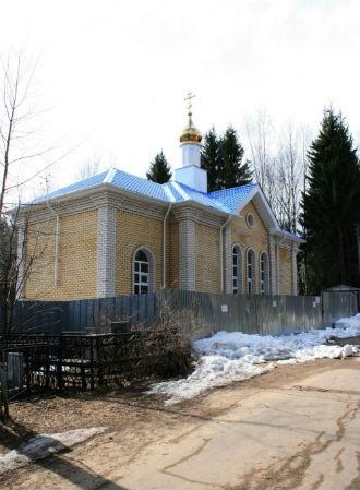 Часовня Успения Пресвятой Богородицы на Центральном кладбище