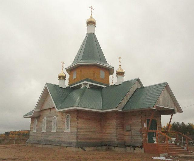 Церковь Сошествия Святого Духа на Новом Верхнечовском кладбище