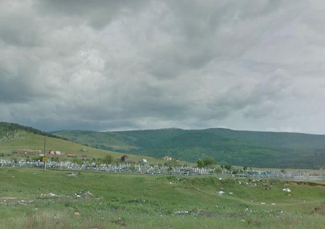 Вид на территорию кладбища