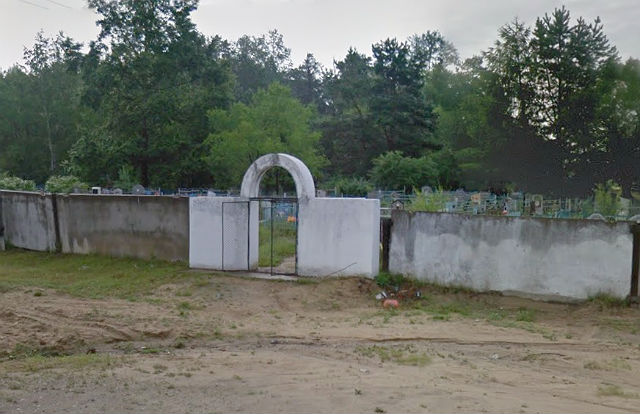 Вход на кладбище