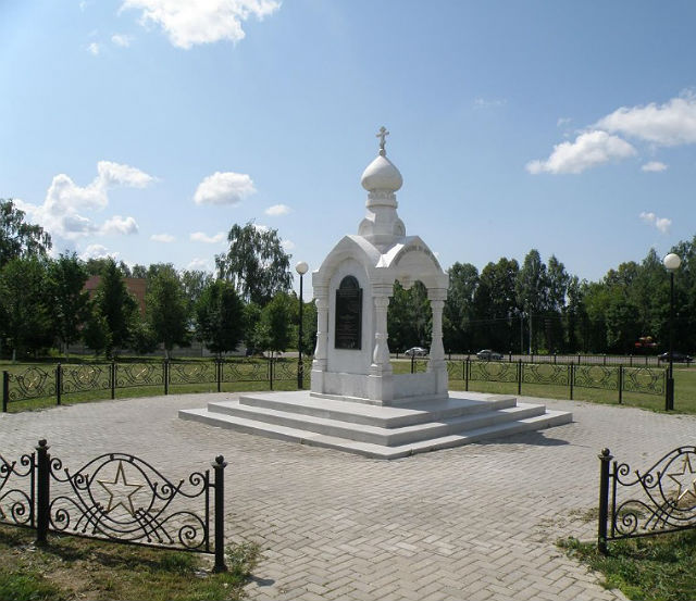 Часовня на Воинском мемориальном кладбище