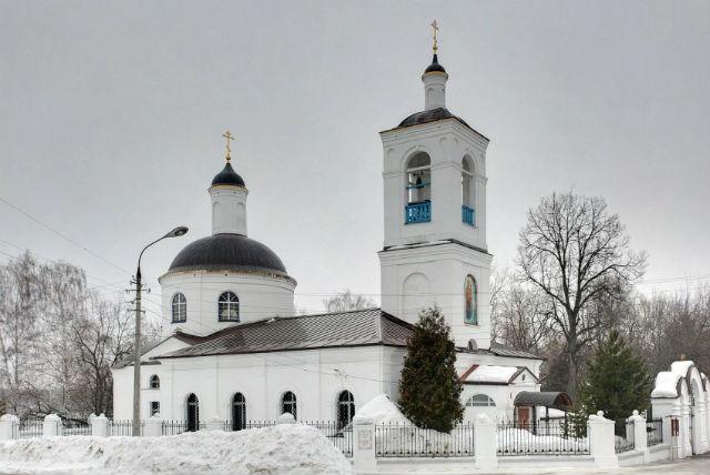 Церковь Тихвинской иконы Божией Матери у Белопесоцкого кладбища