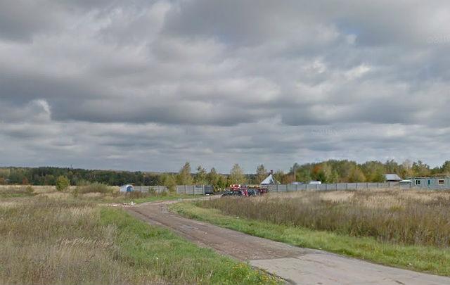 Дорога, ведущая на Лемешовское кладбище