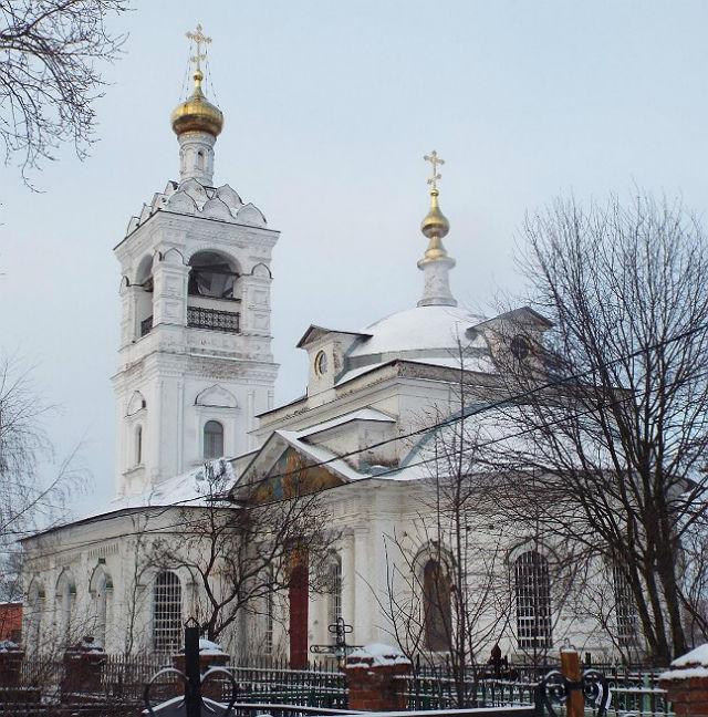 Церковь на